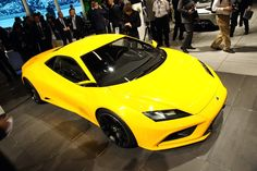 2017 Lotus Exige yellow color front view pictures