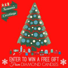 WIN A CANDLE GIFT FROM DIAMOND CANDLES BUT YOU CAN'T WIN IF YOU DON'T ENTER HEAD ON OVER TO DIAMOND CANDLES TO ENTER. GOOD LUCK