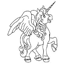 colouring page flying unicorn - Google Search