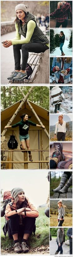 Would you like to go camping? If you would, you may be interested in turning your next camping adventure into a camping vacation. Camping vacations are fun Camping Outfits For Women, Summer Camping Outfits, Camp Outfits, Hiking Outfits, Hiking Clothes, Summer Outfit, Fitness Outfits, Fitness Tips, Mode Plein Air
