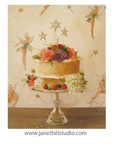 Fairy Cake. Art Print