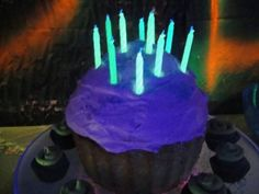 Glow In The Dark Birthday Candles