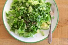 De perfecte en toch simpele groene salade - Beginspiration