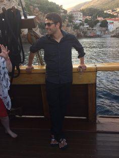 Captain Misha at GISHWHES Winners Voyage!