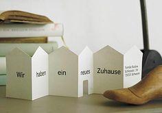 Standhaftes Kartenhaus - Karten für jeden Anlass 1 - [LIVING AT HOME]