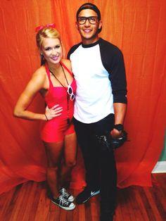 Halloween costume 2014! Wendy Peffercorn and Squints!