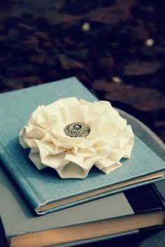 no-sew flower