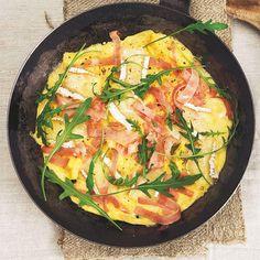 Käse Schinken Omelett