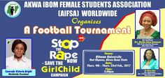 Comrade Victoria Bright : What prompted you to go into female Sports?   You know sports is my own way of addressing the rape issues that is going on in the state so I wanted all the female students in the state even those that were raped to come out; after the tournament you will now go into a talk show where we will call on our mothers our academics all the traditional rulers and the commissioner for justice the police legal advisers and all the stakeholders to see how we can put a stop to…