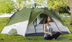 MOON LENCE Pop Up Tent (Family Camping Tent 4 Person) Hiking Tent, Tent Camping, Best 4 Person Tent, 3 Season Tent, Instant Tent, Pop Up Tent, Camping Places, Family Camping, Tents