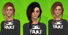 Peggy 120701 hair - Ombre retexture(The sims 4)-26 Ombre and normal colours.-Teen to elder.-No hat.Credit: Jennisims for the conversion.DOWNLOAD:Mediafire / Mega