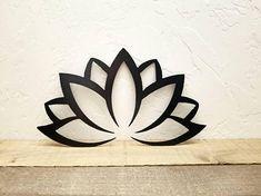 Lotus Flower Decor Metal Wall Art Lotus Flower Art Namaste Yoga Studio Decor Metal Lotus Flower Design Water Lily Lotus Flower Wall Decor by SimplyRoyalDesign on Etsy Art Floral, Design Floral, Design Art, Flower Wall Decor, Flower Decorations, Wall Art Decor, Lotus Flower Mandala, Lotus Flower Design, Yoga Studio Decor
