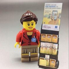 Lego Jehovah's Witness. This is so cute.