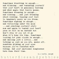 S.C. Lourie, Author of Butterflies and Pebbles
