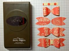 Inking Idaho: Trim The Tree Bow Cards