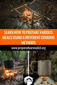 If you find yourself in the wild without power or gas to cook a meal, what are you going to do? There are ways ofcours to still prepare a great meal without gas or electricitie. You can eat your canned foods ofcours but if you know how to cook in survival then you can turn it in to an enjoyable mealtime! you can practice most of these yourself without it needing to be perfect! You can learn from mistakes you might make and grow as a person. Bushcraft Kit, Bushcraft Skills, Bushcraft Knives, Survival Skills, Canned Foods, Mistakes, Cook, Meals, Canning