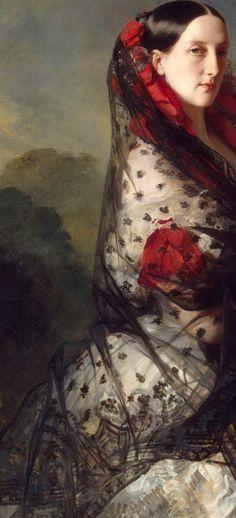 Franz Xavier Winterhalter: Portrait of Grand Duchess Maria Nikolaevna