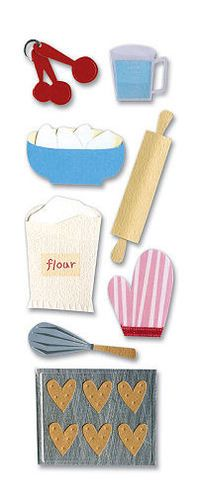 Baking Stickers - A Touch Of Jolee's