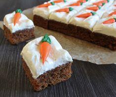 Rustikk Mat: Gulrotkake i langpanne Dessert Recipes, Desserts, Cheesecake, Pie, Baking, Food, Tailgate Desserts, Torte, Deserts