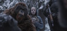 Amiah Miller in War for the Planet of the Apes (1)
