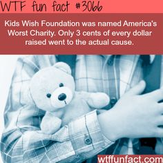 America's worst charity - WTF fun facts. That's disgusting. How dare they even classify themselves as a charity!