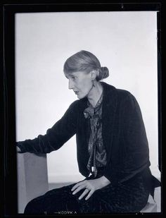 Man Ray - Virginia Woolf, 1935