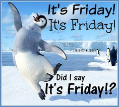 Get out and enjoy the day! Happy Friday to all our patients!