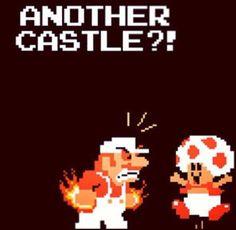 Mario had enough with Toad! https://www.facebook.com/Igersnintendo