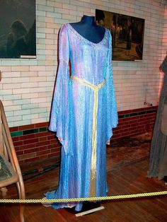 The dress Arwen wears on the bridge with Aragorn