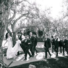 Rancho Bernardo Inn Photos - Hollywood glam wedding with Spanish Flamenco flair. Blush, nude & pink bridesmaid dresses.