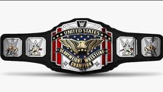 Rumors About The Design Change Of The WWE United States Title Are Denied,The fans of WWE put the network on fire yesterday. Wwe United States Championship, Wwe Championship Belts, Wwe Replica Belts, Wwe Belts, Wrestling Quotes, Wrestling Stars, Wrestling Wwe, Dojo, Wwe Accessories