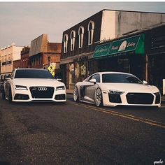 RS7 and R8 #TheAffluentLeague #Audi #Luxury Courtesy of: @gabe.design