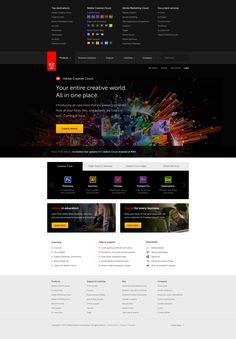 Adobe menu