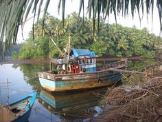The Quenn of Chapora river Goa, Wonderful Places, River, India, Orphan, Rivers