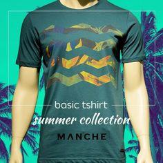 Yazın en dinamik renkleriyle casual şıklığını birleştirin, şıklığınıza renk katın! 👉 http://www.manche.com.tr/koleksiyon/yaz-koleksiyonu/desen-baskılı-basic-tişört-nefti