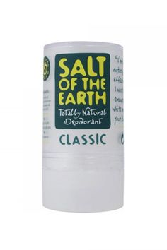Salt of the Earth Natural Deodorant Stone - love this product and really works too!  Great for vegans too!