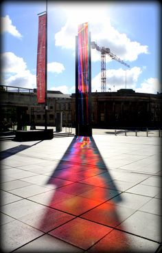 Outside Liverpool Metropolitan (Catholic) Cathedral. October 2012.