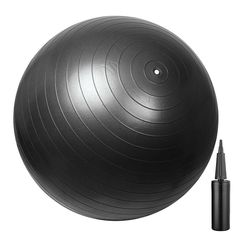 29' 75cm Exercise Fitness Aerobic Ball GYM Yoga Pilates Balance w/Air Pump Black * See this great product.