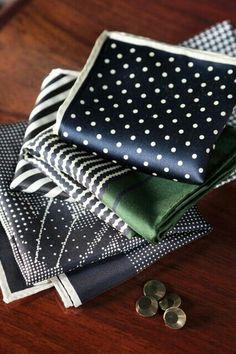 Nice hankerchief.