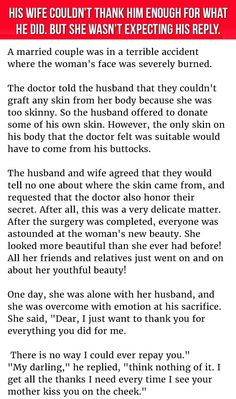 His #Wife Couldn't Thank Him Enough For What He Did. But She Wasn't Expecting His Reply.  #LOL #funny #Hilarious