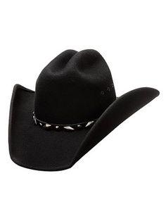 ebe11115a5d Bullhide Justin Moore Guns - Shapeable Wool Cowboy Hat
