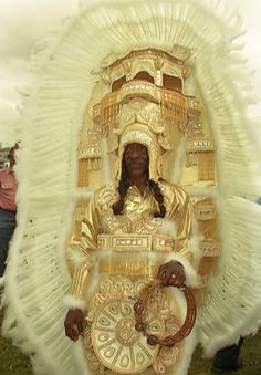 Two Bucket List item marked off: 1) go to Mardi Gras, 2) catch a Zulu Coconut, next on my list: see the Mardi Gras Indians perform.