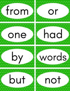 These free printable sight word flash cards help your child learn their first 100 sight words easily. Just print and cut them out and they'll be reading in no time! Pre K Sight Words, Preschool Sight Words, Basic Sight Words, Teaching Sight Words, Sight Words List, First Grade Sight Words, Sight Word Activities, Phonics Activities, Phonics Flashcards