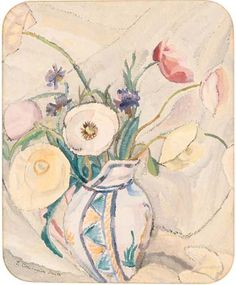 ❀ Blooming Brushwork ❀ - garden and still life flower paintings - Grace Cossington Smith