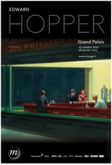 Edward Hopper au grand palais novembre 2012