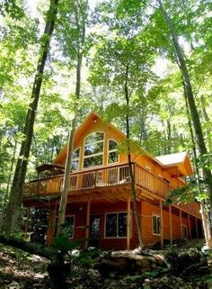 Vacation rentals are popular in Traverse City like this one - Cedar Lake Lodge - just 5 minutes from town on a private lake.