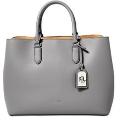 Lauren Ralph Lauren Dryden Marcy Tote ( 161) ❤ liked on Polyvore featuring  bags 39d1558b05d38