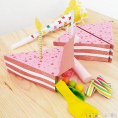 mini piñatas individuales caja de pastel
