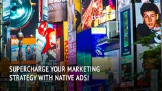 Native ads can really help you take your marketing efforts to the next level! Find out how!