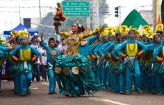 Sinulog Festival Cebu, Philippines.